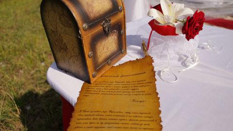Стилизация свадебного приглашения