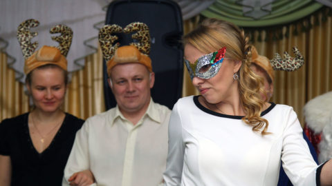Новогодний праздник в Перми
