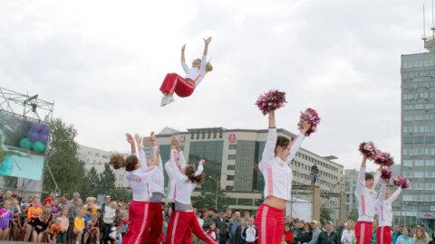 Организация спортивного праздника в Перми