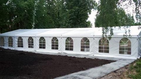 Прокат шатра для мероприятия в Перми