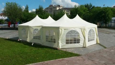 Восьмигранный шатер в Аренду по низкой цене