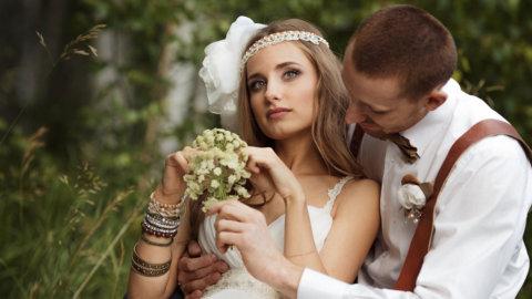 Свадьба в стиле фолк, прованс
