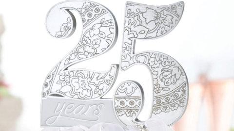 Серебрянная годовщина свадьбы