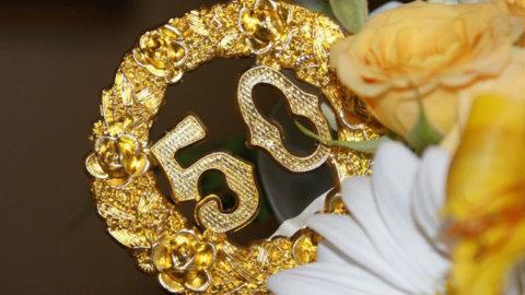 Золотая годовщина свадьбы