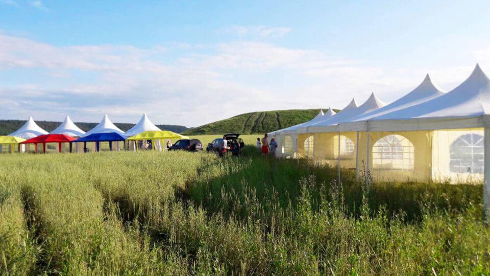 Прокат шатров и палаток