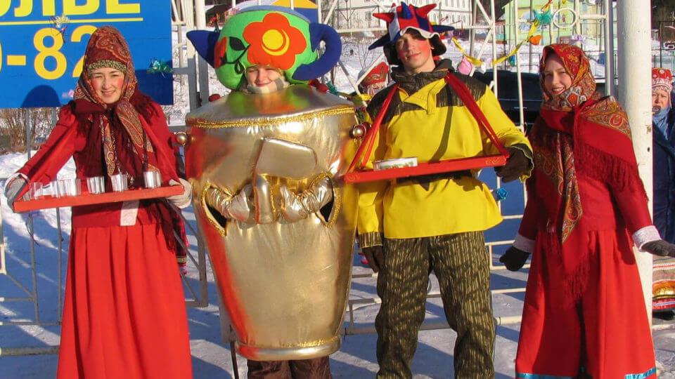 Стилизация праздника в Перми