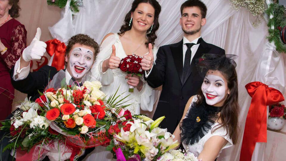 Стилизация свадьбы